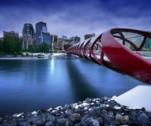 Peace Bridge Wallpaper