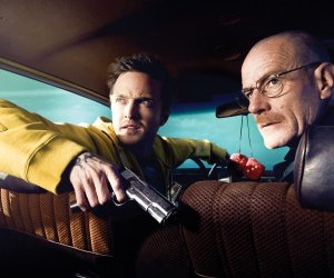 Breaking Bad - Jesse Pinkman & Walter White Wallpaper