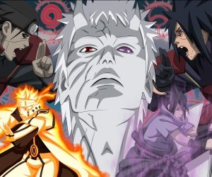Naruto Vs. Madara Uchiha Wallpaper