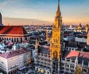 Munich Skyline Wallpaper