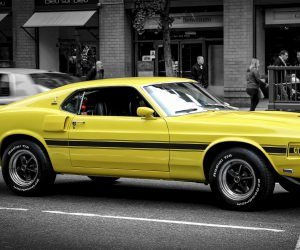 1969 Ford Mustang GT350 Wallpaper