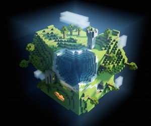 Planet Minecraft Wallpaper
