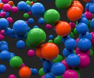 Colorful Balls Wallpaper