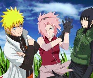 Naruto, Sakura and Sasuke Wallpaper