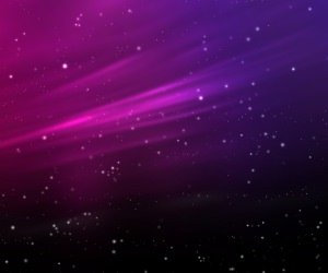 Purple Aurora Sparks Wallpaper