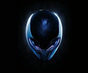 Alienware Blue Logo Wallpaper
