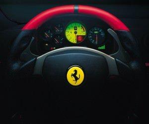 Ferrari Steering Wheel Wallpaper