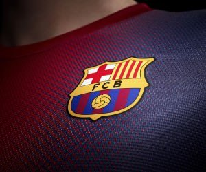 FC Barcelona Logo Shirt Wallpaper