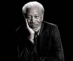 Morgan Freeman Portrait Wallpaper