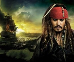 Jack Sparrow - Pirates Of The Caribbean Wallpaper