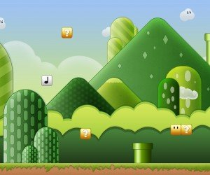 Super Mario Bros World Wallpaper