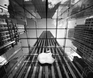 Apple Store, Fifth Avenue, New York City Wallpaper