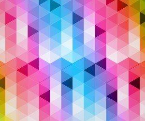 Triangular Grads Wallpaper
