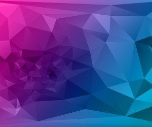 Purple Polygonal Background Wallpaper
