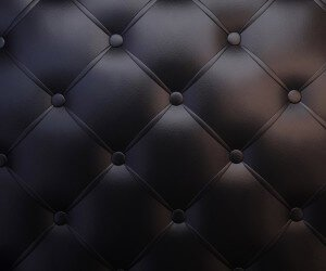 Black Leather Vintage Sofa Wallpaper