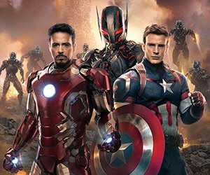 The Avengers: Age of Ultron - Iron Man and Captain America Wallpaper