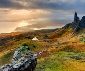 The Old Man of Storr, Isle of Skye, Scotland Wallpaper