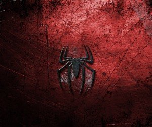 Grungy Spider-Man Logo Wallpaper