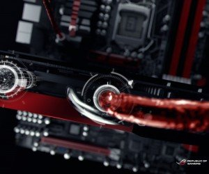 ASUS ROG Poseidon Liquid Cooling Wallpaper