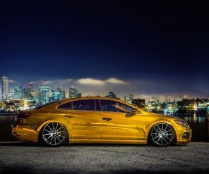 Volkswagen CC on CW-12 Concave Wheels Wallpaper