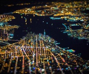 New York City From Above Wallpaper