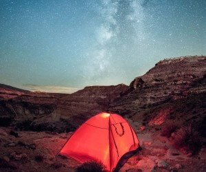 Starry Night at Ghoufi, Algeria Wallpaper