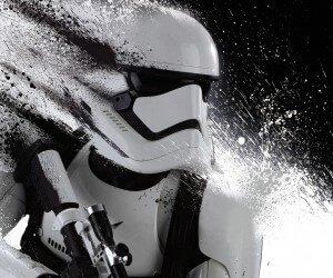 Stormtrooper Splatter Wallpaper
