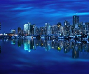 Coal Harbour Marina, Vancouver Wallpaper
