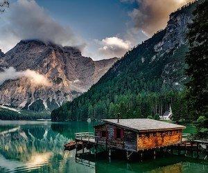 Lake Prags - Italy Wallpaper