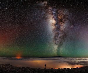 The Milky Way from Mauna Kea Wallpaper