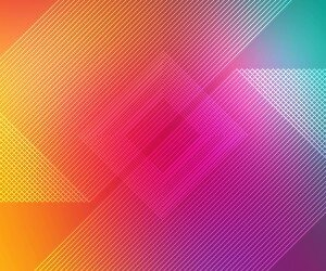 Multicolor Stripes Wallpaper