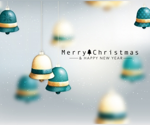 Merry Christmas & Happy New Year Wallpaper